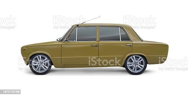 Italian Vintage Car Stock Photo - Download Image Now