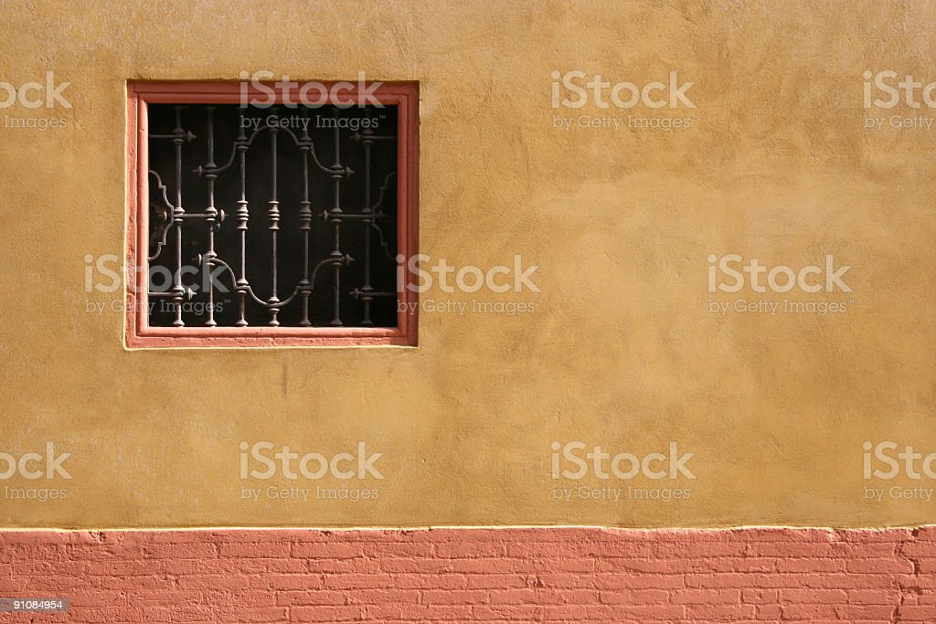 Italian window royalty-free stock photo