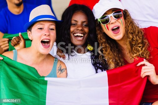 537894724 istock photo italian women suppporters at stadium 468035411