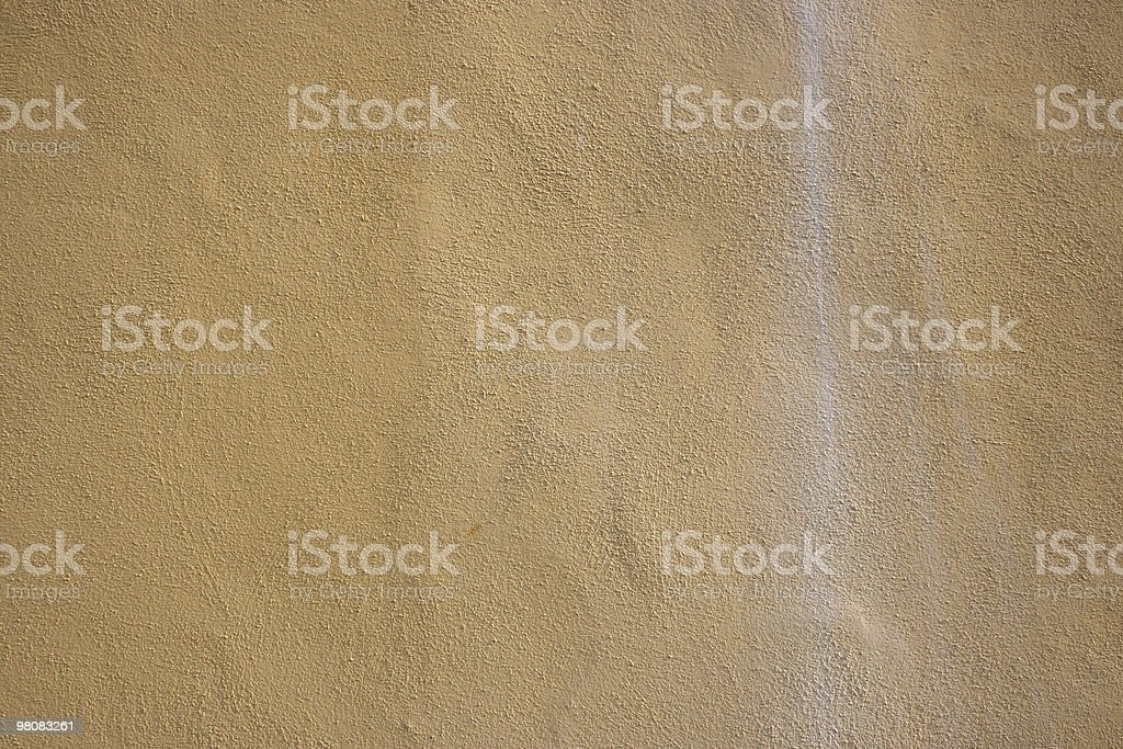 Italian yellow wall with white line on right royalty-free stock photo
