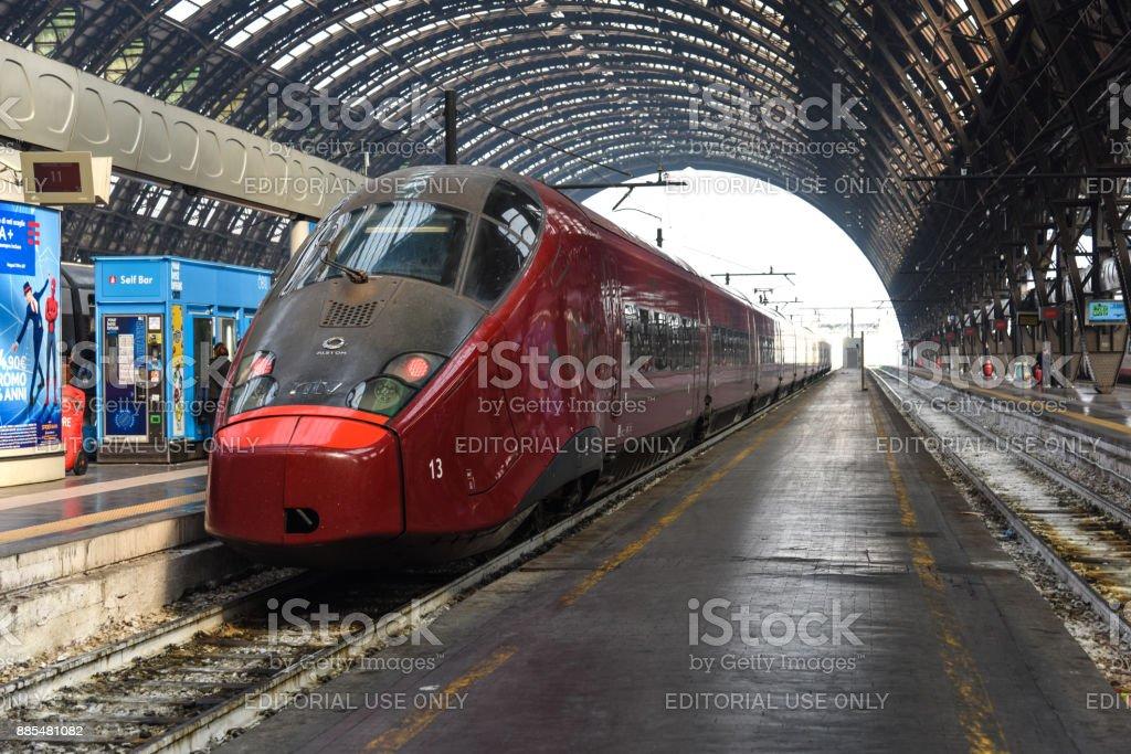 Italo - Italian High Speed Train stock photo