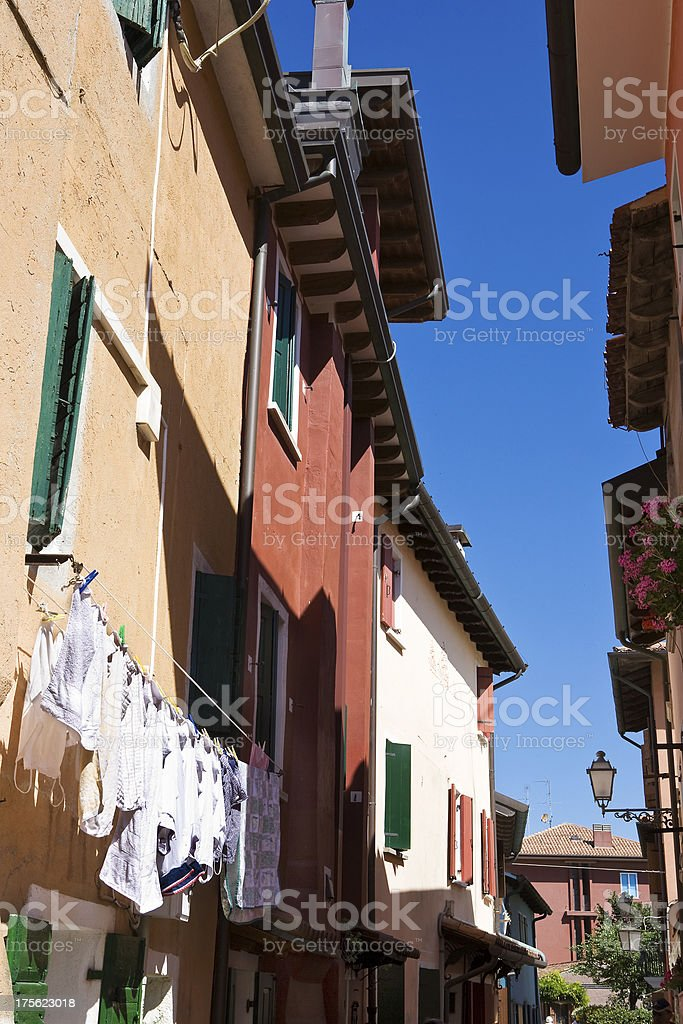 Italy, a country architecture of Veneto. royalty-free stock photo