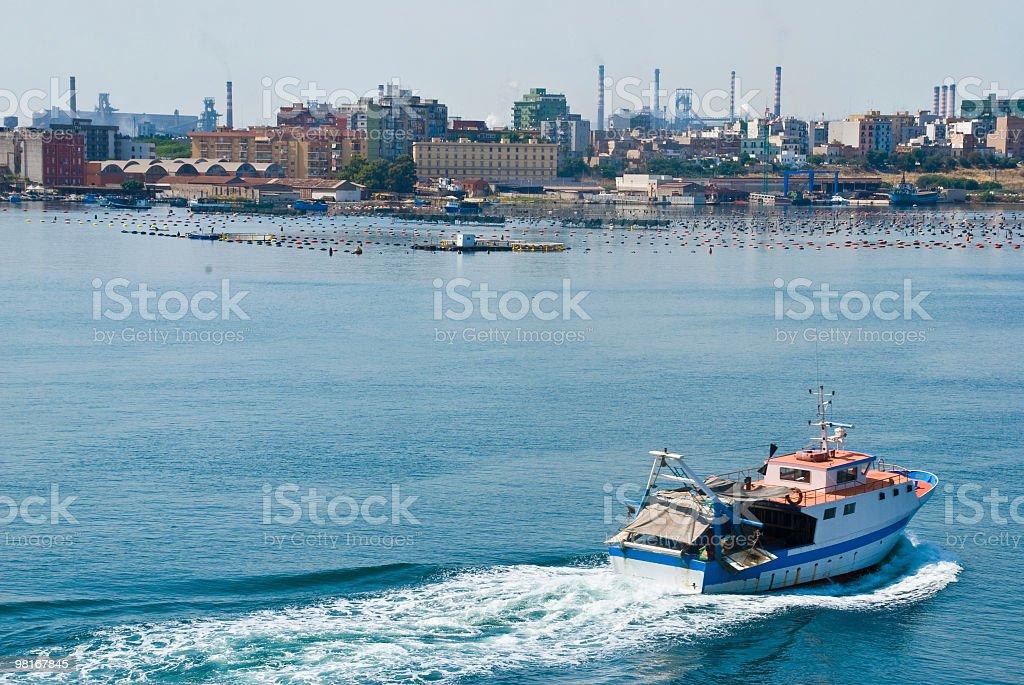 Italy, Apulia, Lecce - San Cataldo harbour royalty-free stock photo