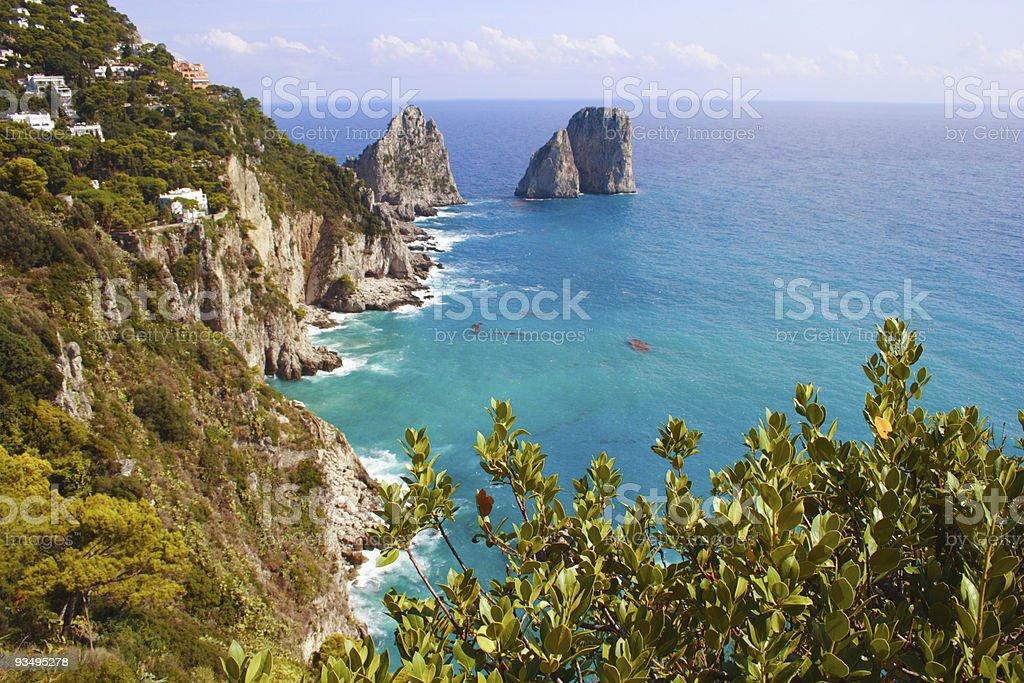 Italy Capri Island royalty-free stock photo