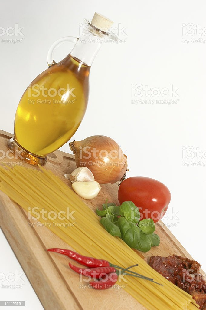 Italien cooking (2) royalty-free stock photo