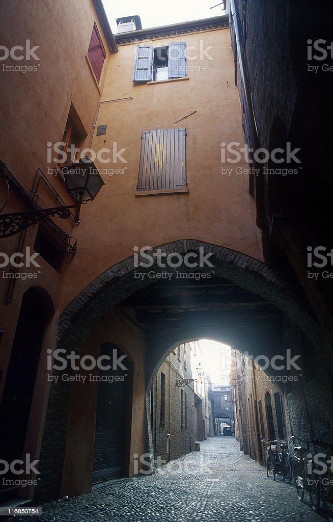 Italy. Ferrara. royalty-free stock photo