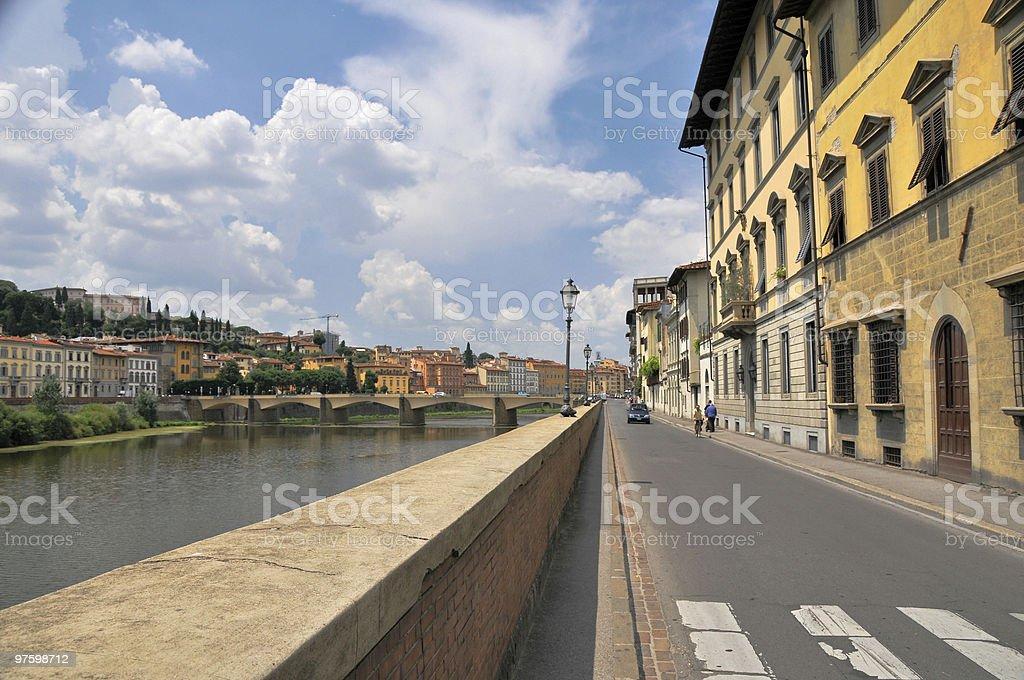 Italy. Florence royaltyfri bildbanksbilder