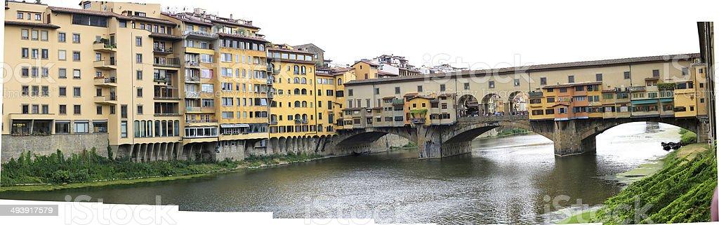 Italy Florence - Ponte Vecchio stock photo