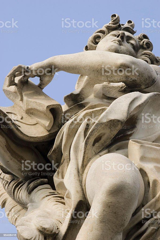 Italy, Lazio, Rome - Angel royalty-free stock photo