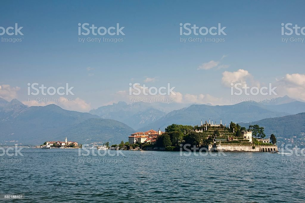 Italy - Maggiore Lake, Borromean Islands stock photo