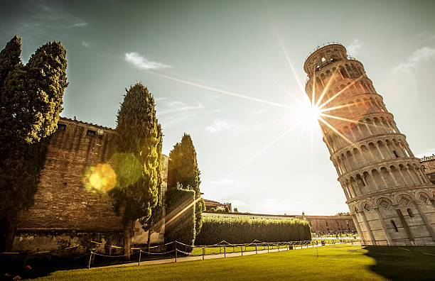 Italy Pisa leaning tower in Italy pisa stock pictures, royalty-free photos & images