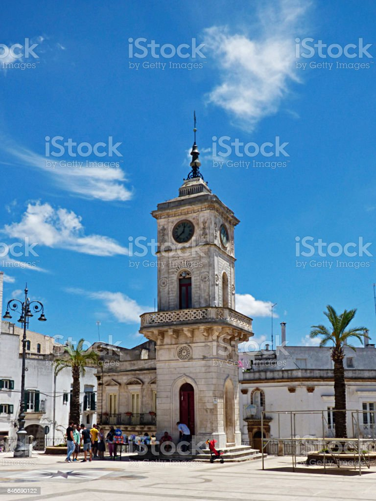 Italy, Puglia, Brindisi, Ceglie di Messapica stock photo
