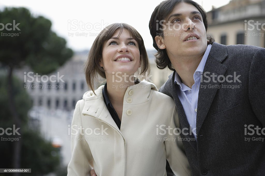 Italy, Rome, couple sightseeing 免版稅 stock photo