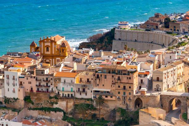 Italy. Sicily. Castellammare del Golfo. stock photo
