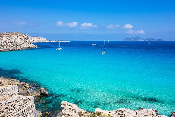 Italy, Sicily, Favignana island, Cala Rossa. Italy, Sicily, Favignana island, Cala Rossa. tuff stock pictures, royalty-free photos & images
