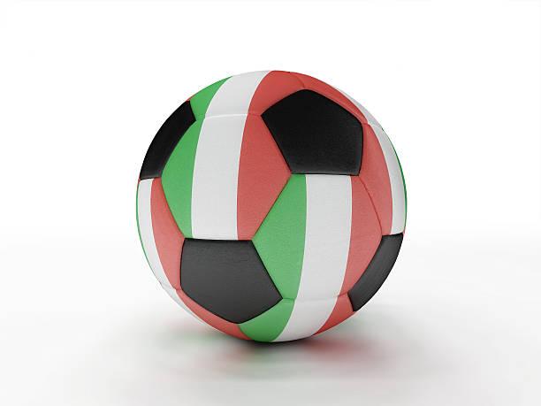 Italy soccer football ball stock photo
