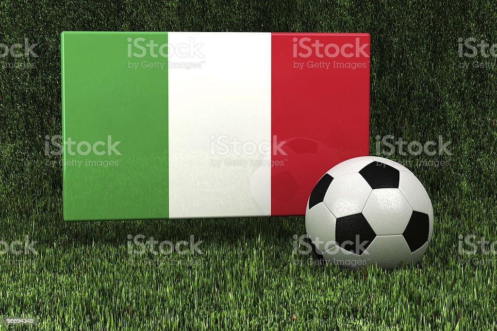 Italy Soccer royalty-free stock photo