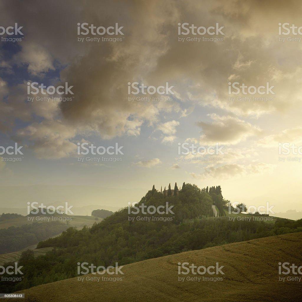 Italy: Tuscany royalty-free stock photo