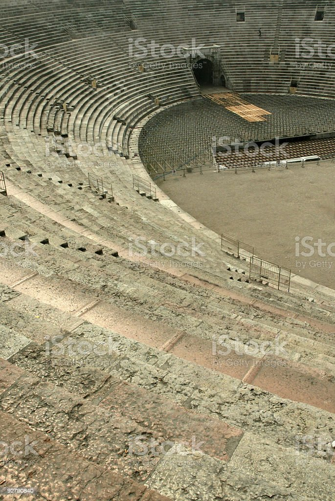 Italy Verona Arena Amphitheater royalty-free stock photo