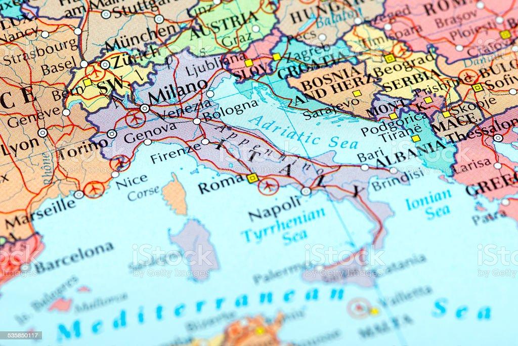 ITALY-Milano stock photo