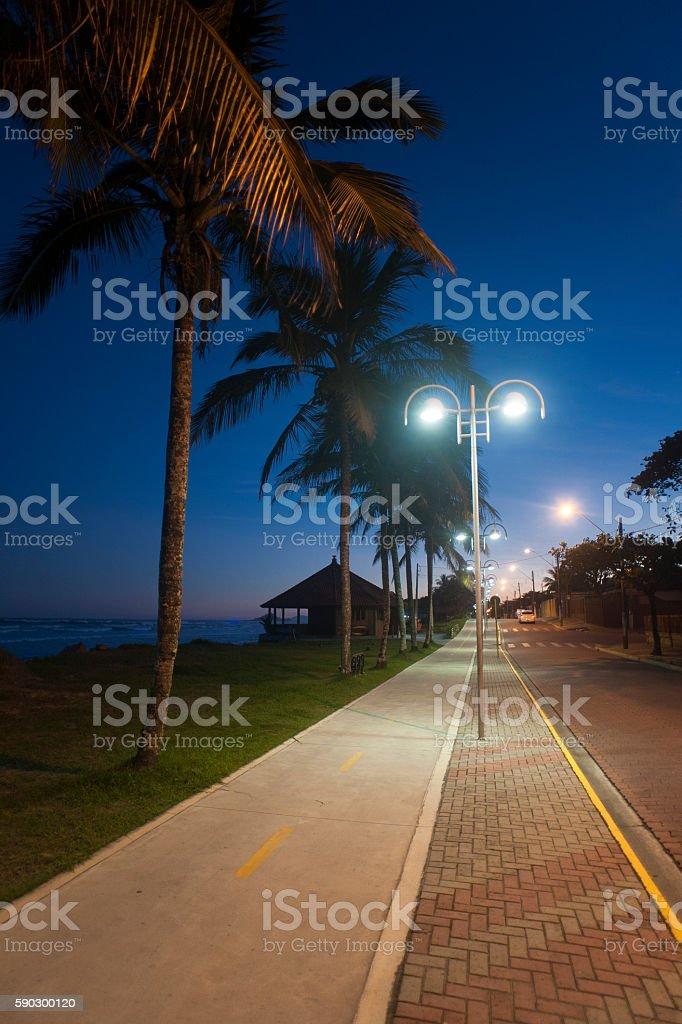 Itanhaém - Brazil royaltyfri bildbanksbilder