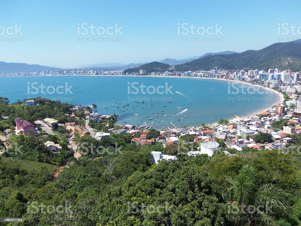 Itapema Beach - Santa Catarina - Brazil royalty-free stock photo
