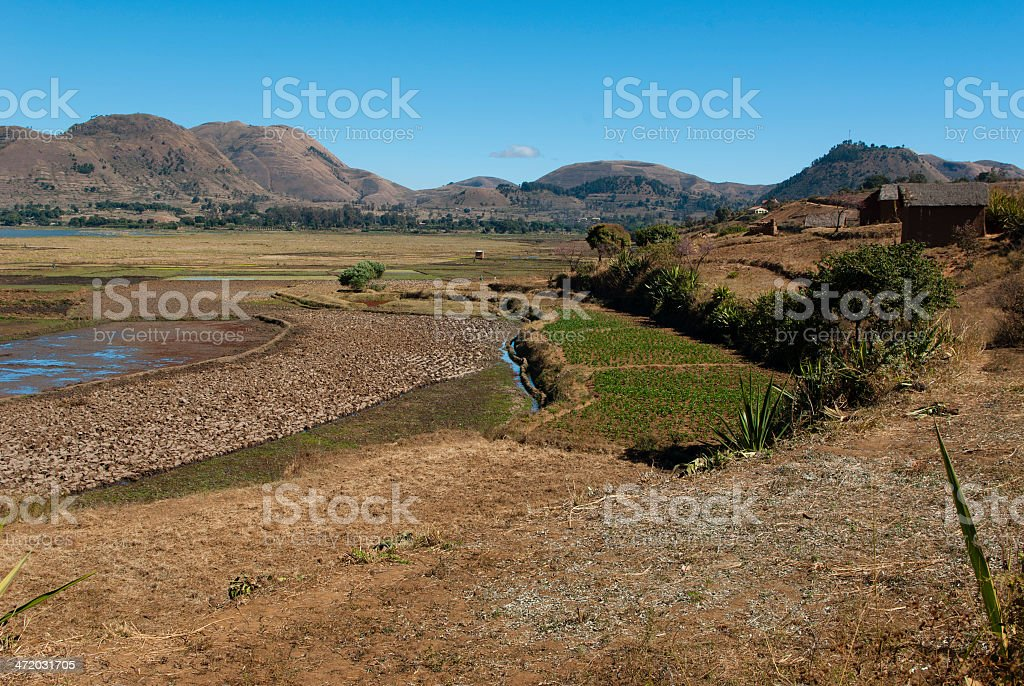 Itasy lake stock photo