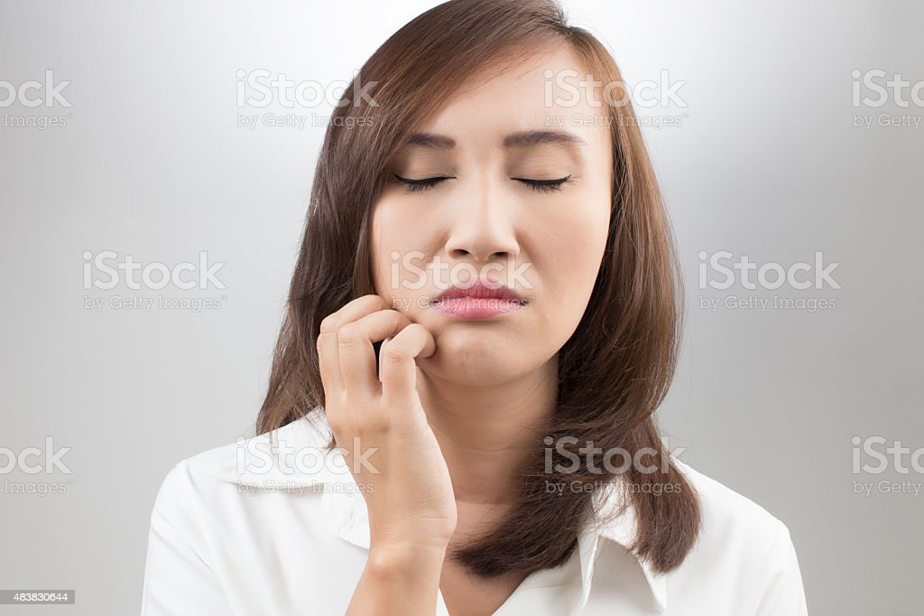 itchiness stock photo