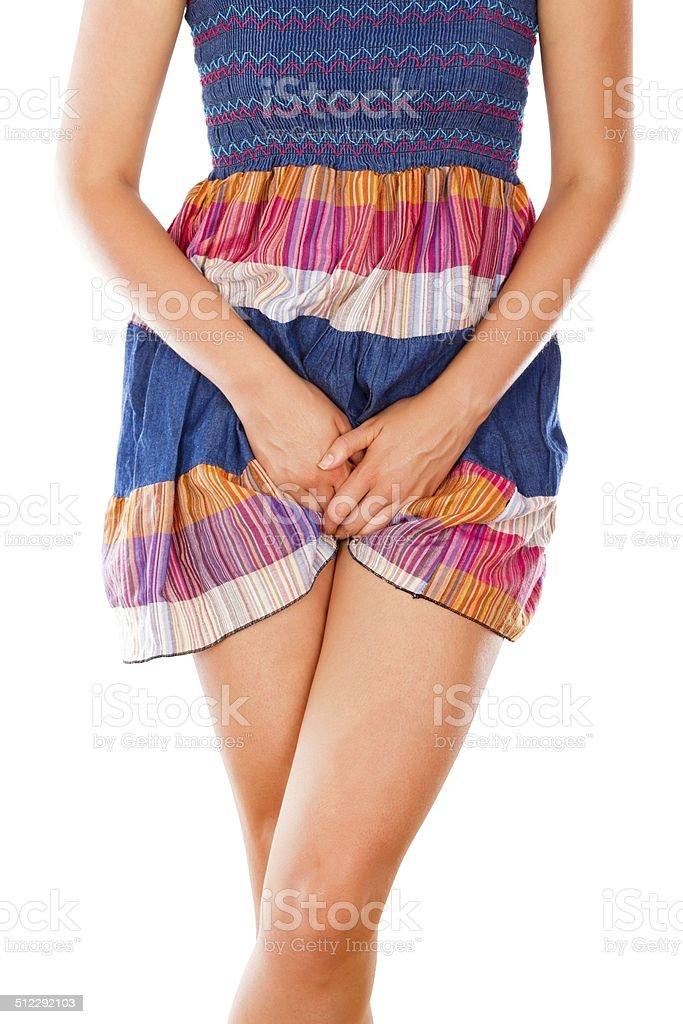 Itching Vagina stock photo