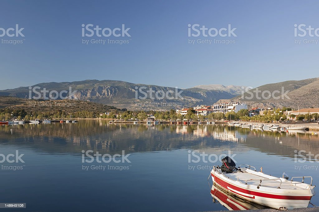 Itea, Greece stock photo