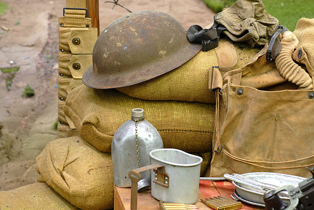 Articles présentés des soldats de la Première guerre mondiale - Photo
