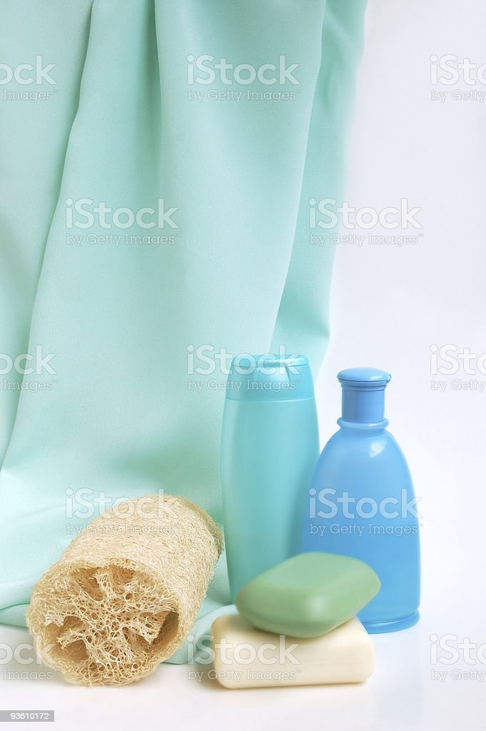 Items for cleanliness royalty-free stock photo