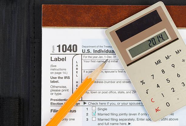 artikel für diese einkommenssteuer - bundeshaushalt 2014 stock-fotos und bilder