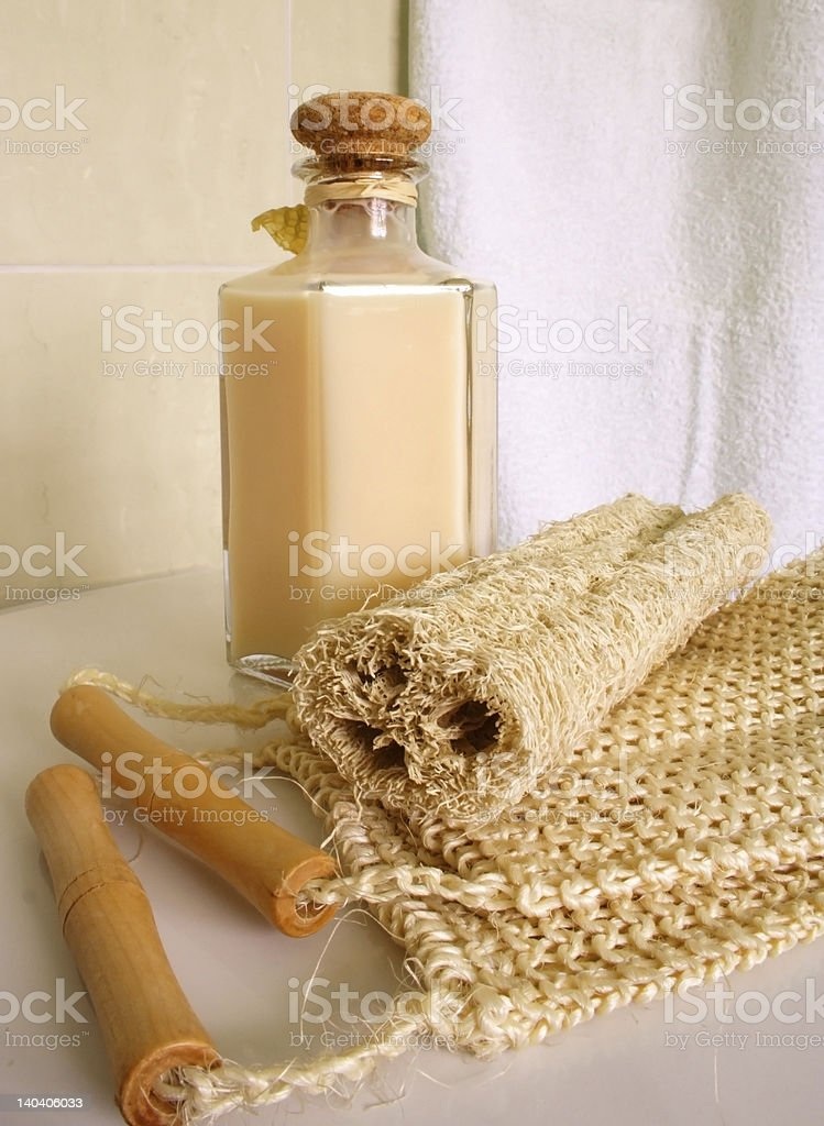 SPA Items royalty-free stock photo