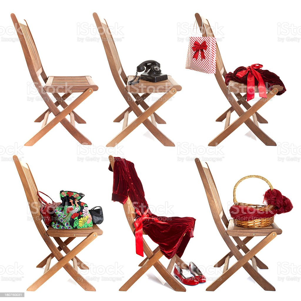 items top of the chair royalty-free stock photo