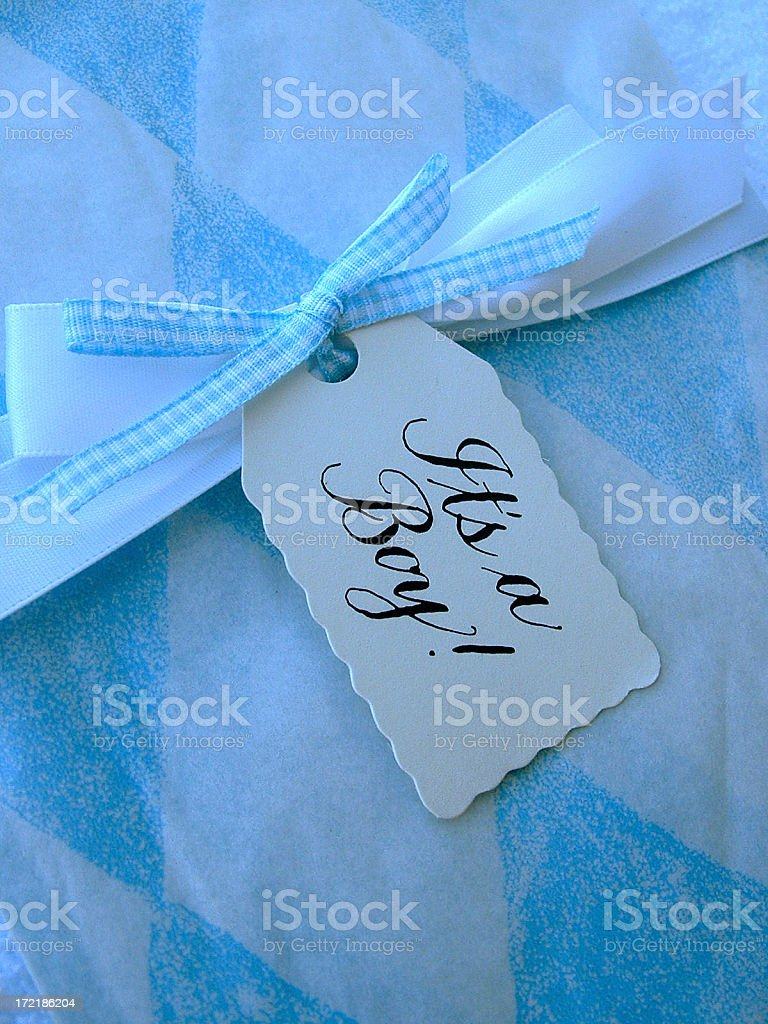 It's a boy! royalty-free stock photo