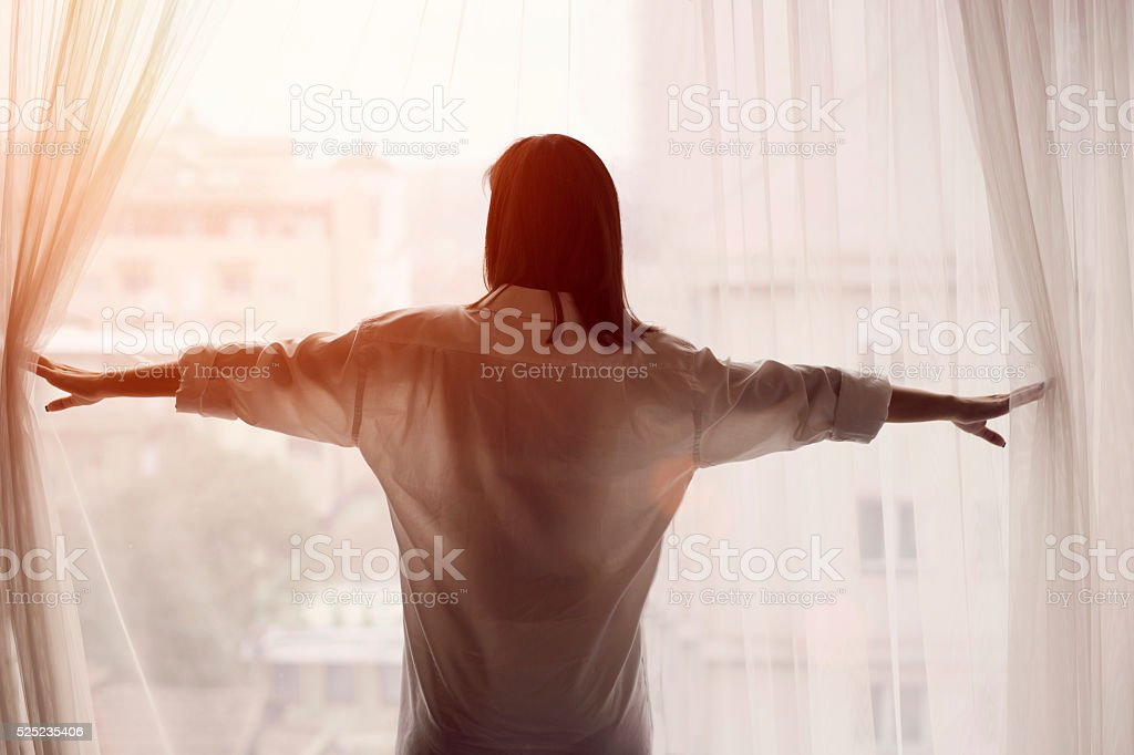 It's A Brand New Day! stock photo