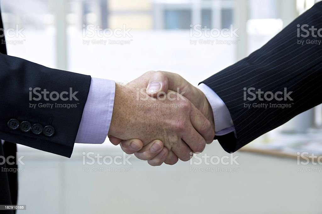 It's a deal... stock photo