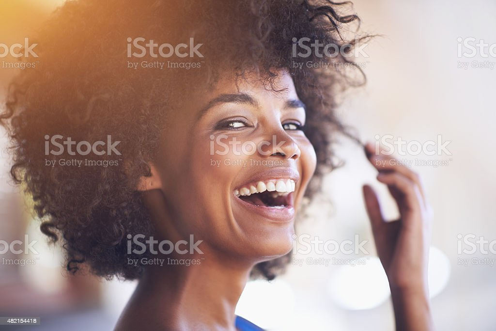 It's a feel good kinda day stock photo