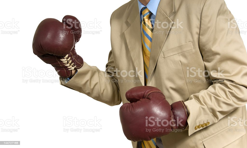 It's a fight! royalty-free stock photo
