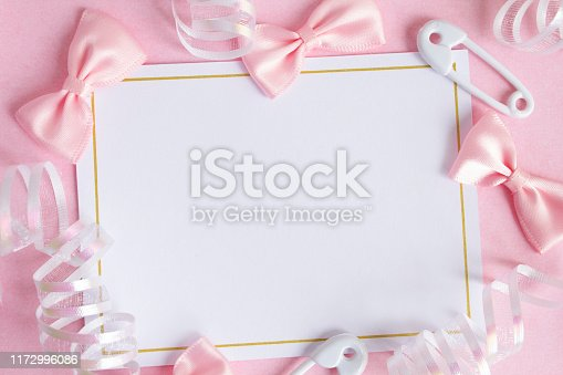 875685464istockphoto 'Its a girl' notecard. 1172996086