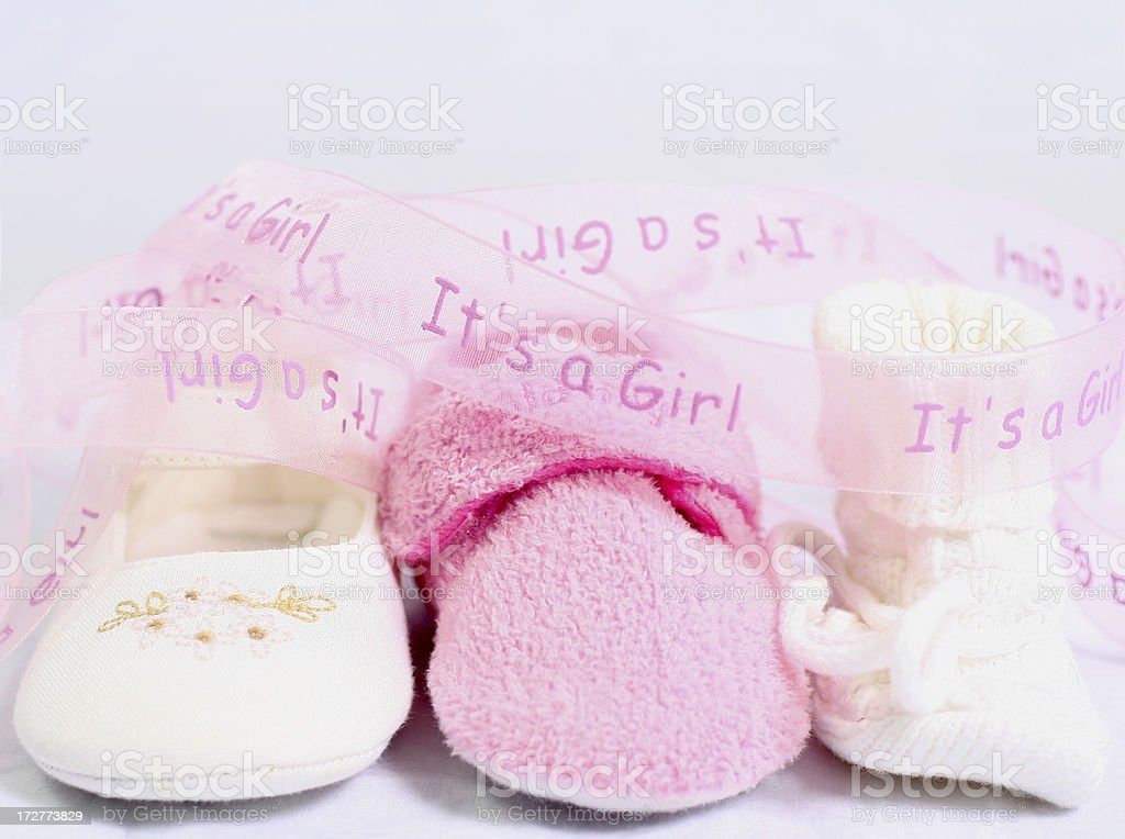 It's a girl royalty-free stock photo
