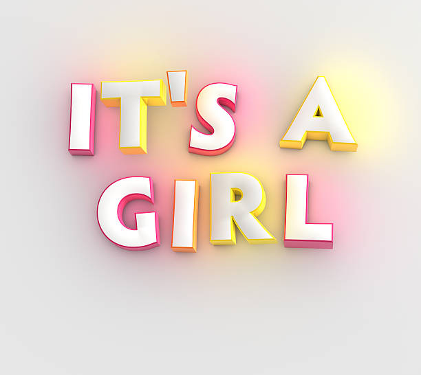 it's a girl - its a girl stock photos and pictures
