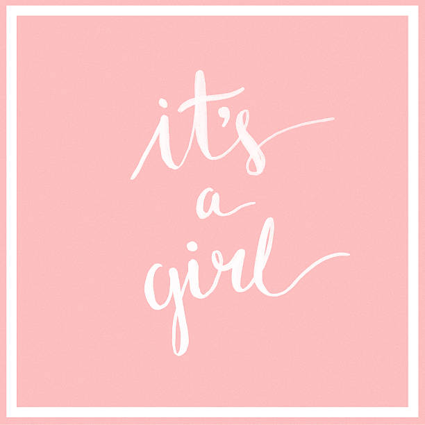 it's a girl! - its a girl stock photos and pictures