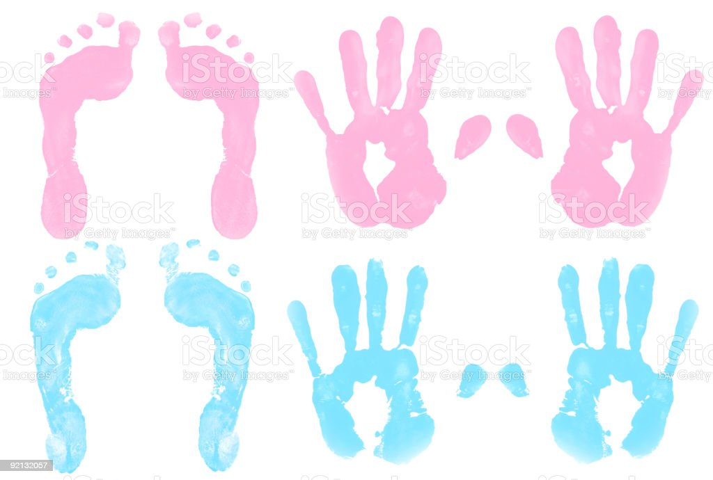It's a Girl/Boy! (prints) stock photo