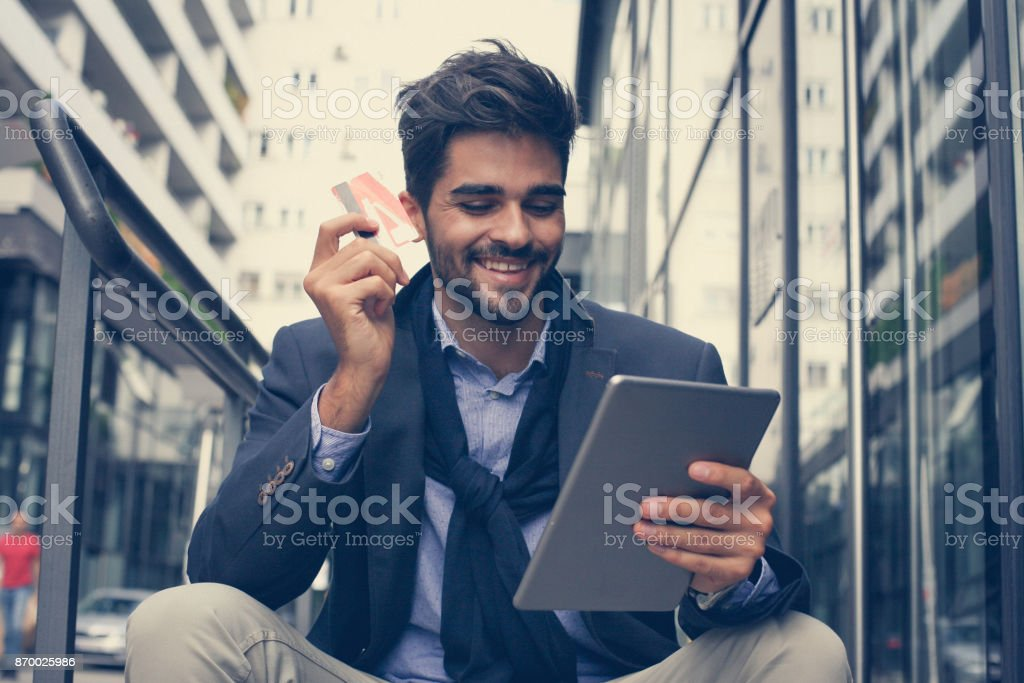 It's a good sopping. stock photo