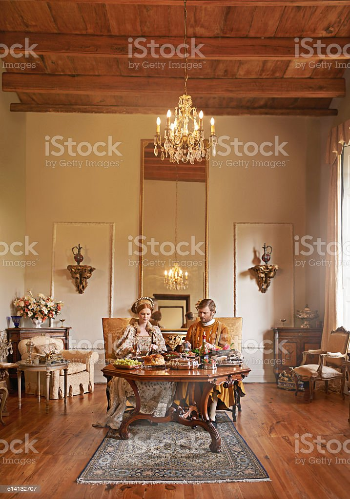 It's a highborn life for us stock photo