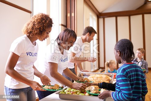 Cropped shot of a group of volunteer workers serving food to childrenhttp://195.154.178.81/DATA/i_collage/pu/shoots/805803.jpg