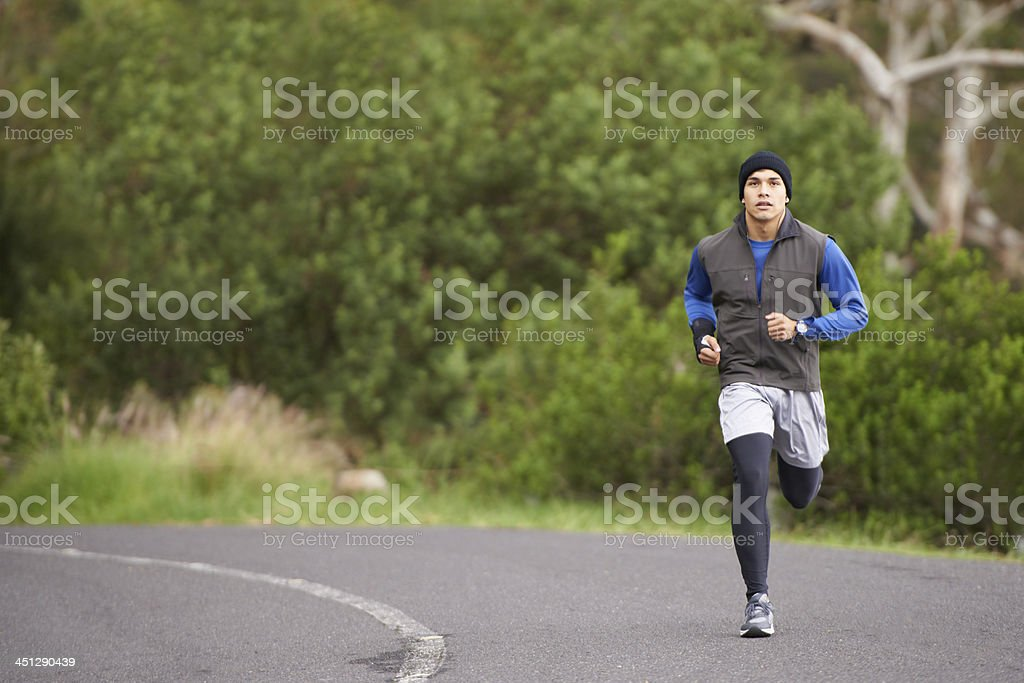 It's a long road... stock photo