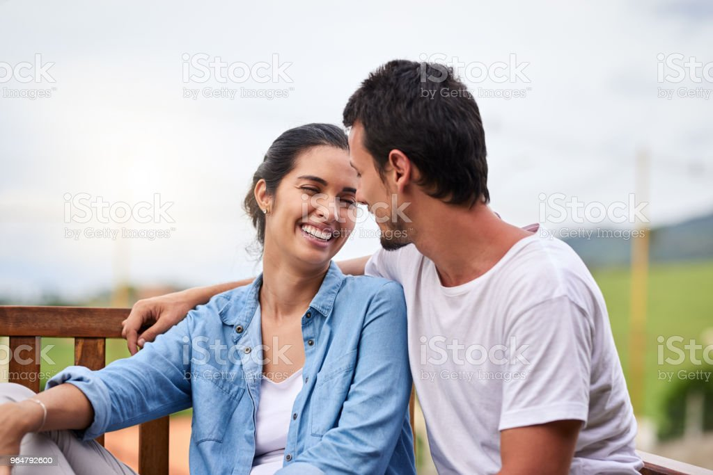 It's a match made in heaven royalty-free stock photo